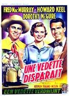 Callaway Went Thataway - Belgian Movie Poster (xs thumbnail)