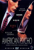 American Psycho - Swedish DVD movie cover (xs thumbnail)