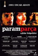 Amores Perros - Turkish Movie Poster (xs thumbnail)