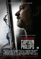Captain Phillips - German Movie Poster (xs thumbnail)