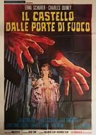 Il castello dalle porte di fuoco - Italian Movie Poster (xs thumbnail)