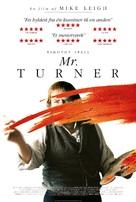 Mr. Turner - Danish Movie Poster (xs thumbnail)