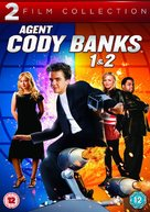 Agent Cody Banks 2 - British DVD movie cover (xs thumbnail)