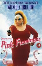 Pink Flamingos - British VHS cover (xs thumbnail)