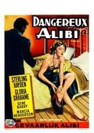 Naked Alibi - Belgian Movie Poster (xs thumbnail)