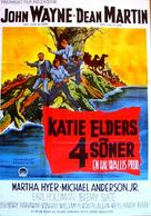 The Sons of Katie Elder - Swedish Movie Poster (xs thumbnail)