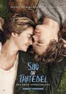The Fault in Our Stars - Estonian Movie Poster (xs thumbnail)