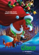 The Grinch - Lebanese Movie Poster (xs thumbnail)