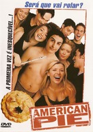 American Pie - Brazilian Movie Cover (xs thumbnail)
