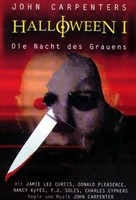 Halloween - German Movie Cover (xs thumbnail)