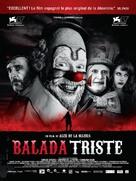 Balada triste de trompeta - French Movie Poster (xs thumbnail)