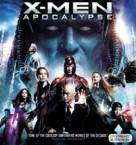 X-Men: Apocalypse - Blu-Ray movie cover (xs thumbnail)