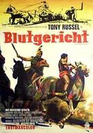 La rivolta dei sette - German Movie Poster (xs thumbnail)