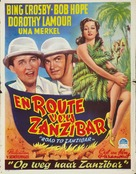 Road to Zanzibar - Belgian Movie Poster (xs thumbnail)