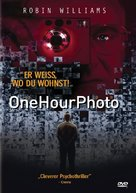 One Hour Photo - German DVD cover (xs thumbnail)