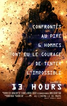 13 Hours: The Secret Soldiers of Benghazi - French Movie Poster (xs thumbnail)