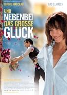Un bonheur n'arrive jamais seul - German Movie Poster (xs thumbnail)