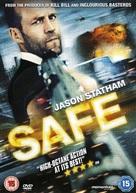 Safe - British DVD movie cover (xs thumbnail)