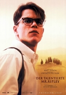 The Talented Mr. Ripley - German Movie Poster (xs thumbnail)