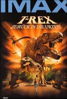 T-Rex: Back to the Cretaceous - German poster (xs thumbnail)