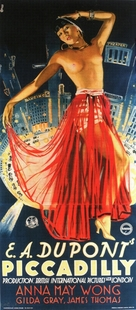 Piccadilly - British Movie Poster (xs thumbnail)