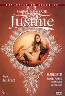 Marquis de Sade: Justine - German DVD cover (xs thumbnail)