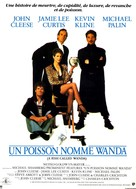 A Fish Called Wanda - French Movie Poster (xs thumbnail)