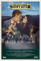 The Man from Snowy River - Australian Movie Poster (xs thumbnail)