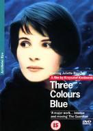 Trois couleurs: Bleu - British DVD cover (xs thumbnail)