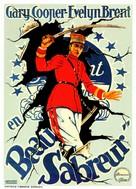 Beau Sabreur - Spanish Movie Poster (xs thumbnail)