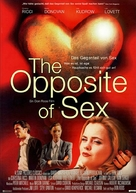 The Opposite of Sex - German Movie Poster (xs thumbnail)