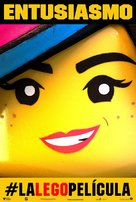 The Lego Movie - Spanish Movie Poster (xs thumbnail)
