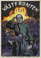 Westfront 1918 - Swedish Movie Poster (xs thumbnail)
