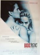 Basic Instinct - Swedish Movie Poster (xs thumbnail)