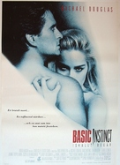 Basic Instinct - Swedish Movie Poster (xs thumbnail)