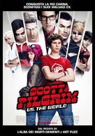 Scott Pilgrim vs. the World - Italian Movie Poster (xs thumbnail)