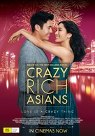 Crazy Rich Asians - Australian Movie Poster (xs thumbnail)