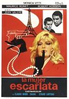 La femme écarlate - Spanish Movie Poster (xs thumbnail)