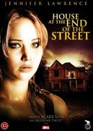 House at the End of the Street - Danish DVD movie cover (xs thumbnail)