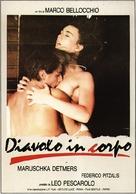 Diavolo in corpo, Il - Italian Movie Poster (xs thumbnail)