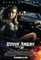 Drive Angry - Malaysian Movie Poster (xs thumbnail)