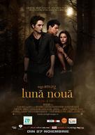 The Twilight Saga: New Moon - Romanian Movie Poster (xs thumbnail)