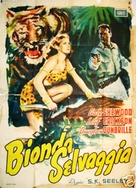 Blonde Savage - Italian Movie Poster (xs thumbnail)