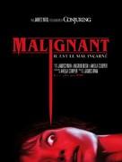 Malignant - French Movie Poster (xs thumbnail)