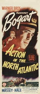 Action in the North Atlantic - Australian Movie Poster (xs thumbnail)