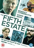 The Fifth Estate - British Movie Cover (xs thumbnail)