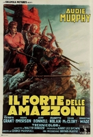 The Guns of Fort Petticoat - Italian Movie Poster (xs thumbnail)
