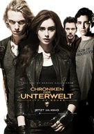 The Mortal Instruments: City of Bones - German Movie Poster (xs thumbnail)