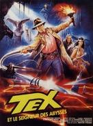 Tex e il signore degli abissi - French Movie Poster (xs thumbnail)