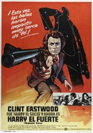 Magnum Force - Spanish Movie Poster (xs thumbnail)